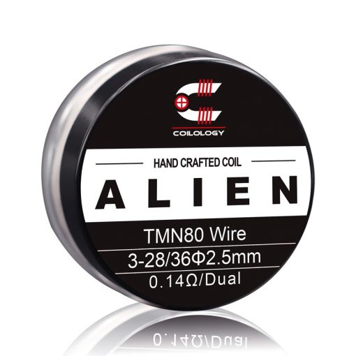 Coilology Alien Twisted Messes N80 0,14ohm/dual (2db)