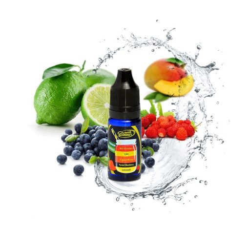 Big Mouth Lemonade - forest bluberry - tropical mango - lime - wild strawberry 10ml aroma