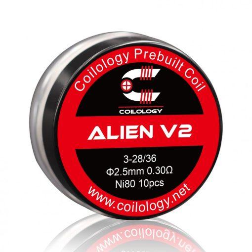 Coilology Alien V2 N80 0,3ohm (10db)