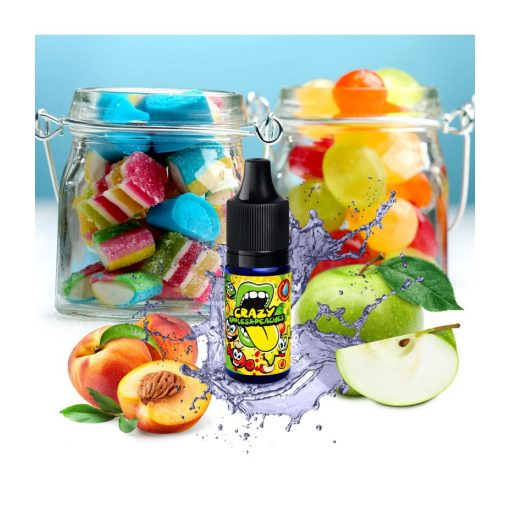 Big Mouth Crazy Apples and Peaches 10ml aroma