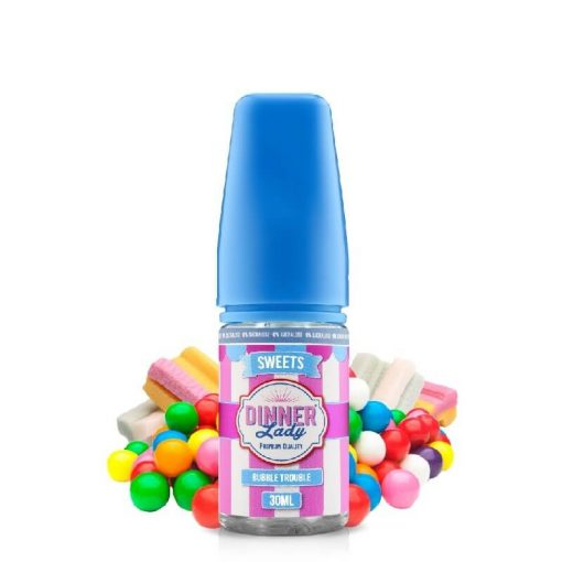 Dinner Lady Bubble Trouble 0% Sucralose 30ml aroma