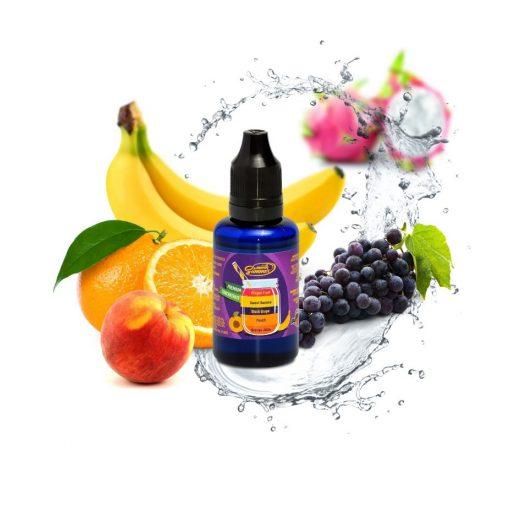 Big Mouth Orange juice - peach - black grape - sweet banana - dragon fruit 30ml aroma