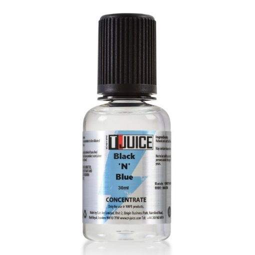 T-Juice Black N Blue 30ml aroma