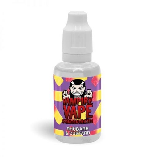 Vampire Vape Rhubarb & Custard 30ml aroma