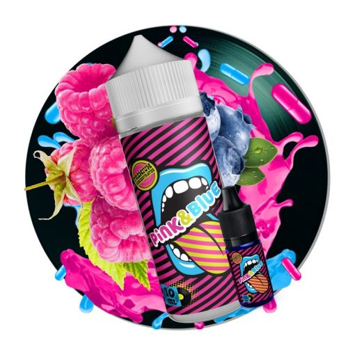Big Mouth Pink & Blue 10ml aroma (Bottle in Bottle)
