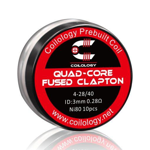 Coilology Quad-Core Fused Clapton 0,28ohm (10db)