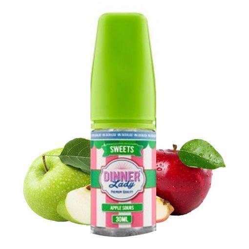 Dinner Lady Apple Sours 0% Sucralose 30ml aroma