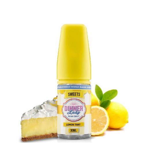 Dinner Lady Lemon Tart 0% Sucralose 30ml aroma