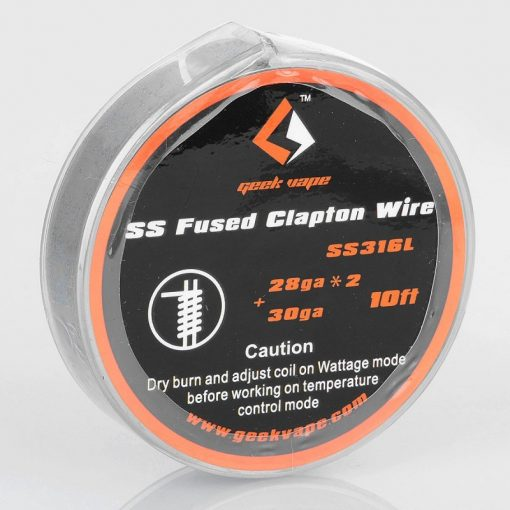 GeekVape SS Fused Clapton Wire 28GA*2+30GA 1,62ohm/ft ellenálláshuzal ZS11
