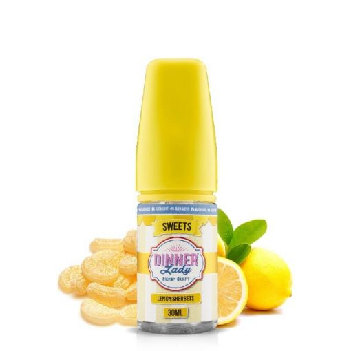 Dinner Lady Lemon Sherbets 0% Sucralose 30ml aroma